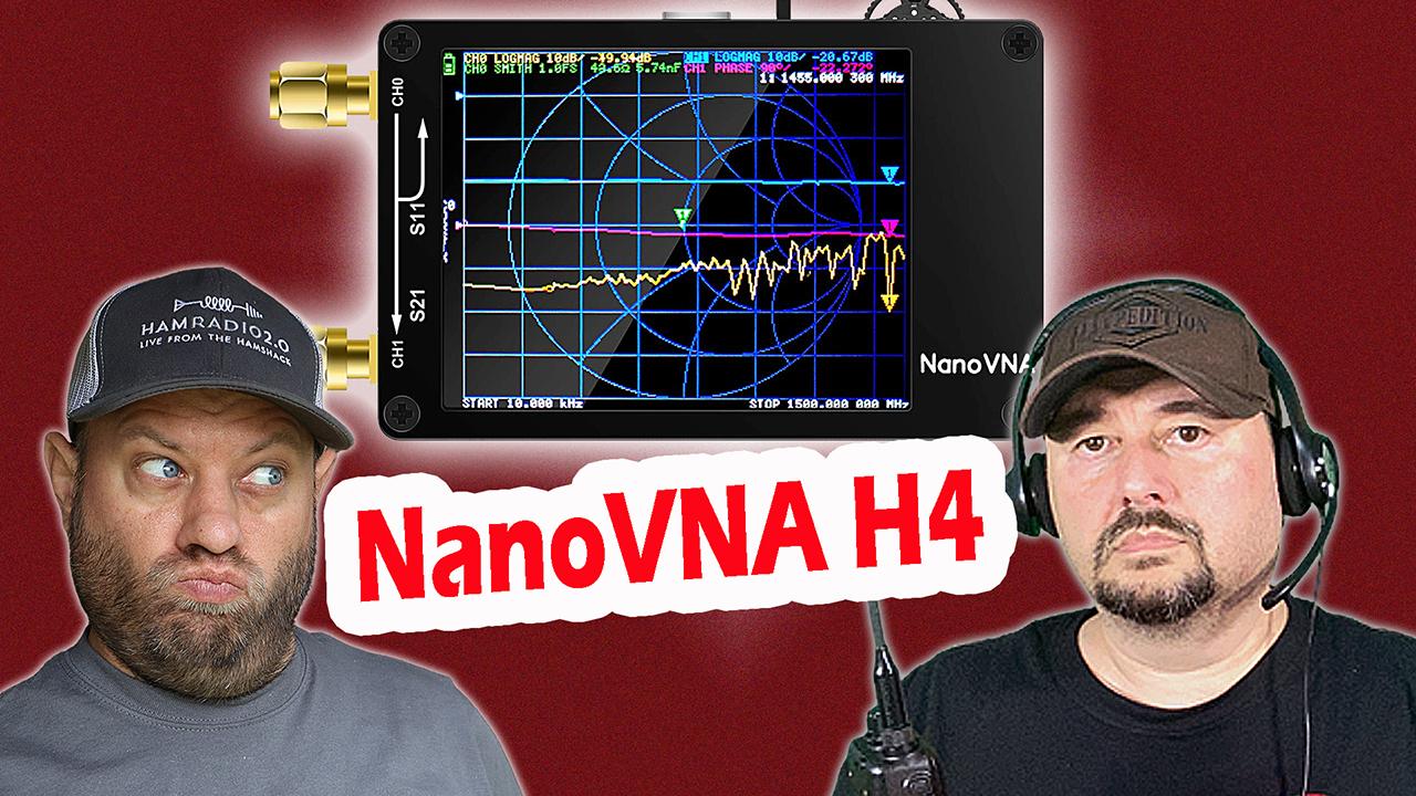 Episode 425: NanoVNA H4 Setup and Usage with NanoVNA-Saver