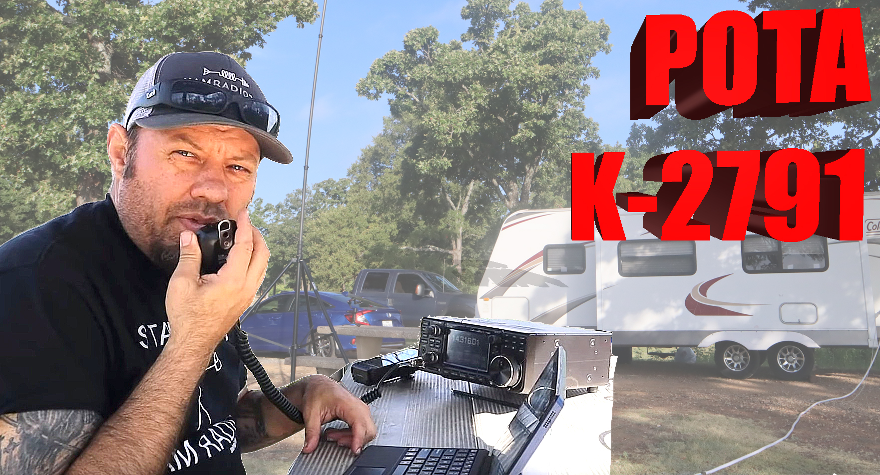 Episode 437: POTA Scramble, Part 1! – Ham Radio Parks on the Air from K-2791