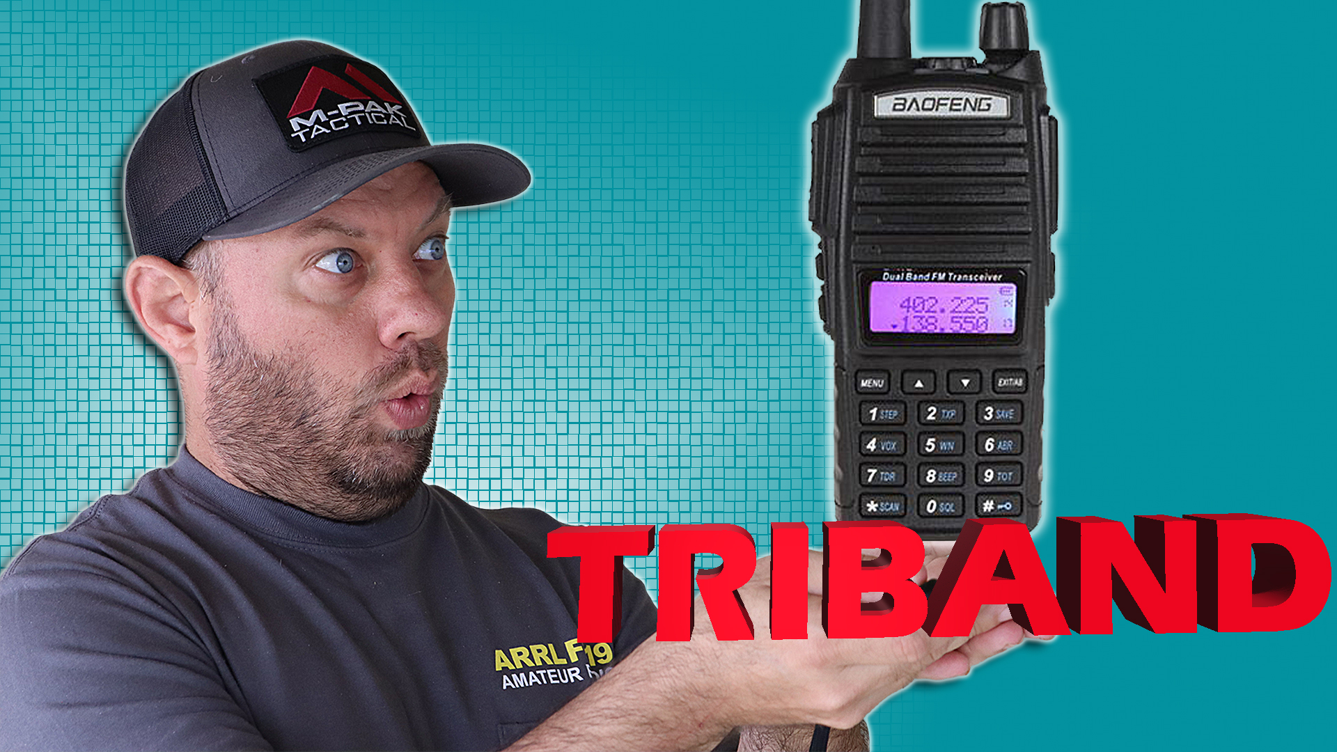 Episode 439: Baofeng UV-82×3 Triband Ham Radio Review and Power Testing