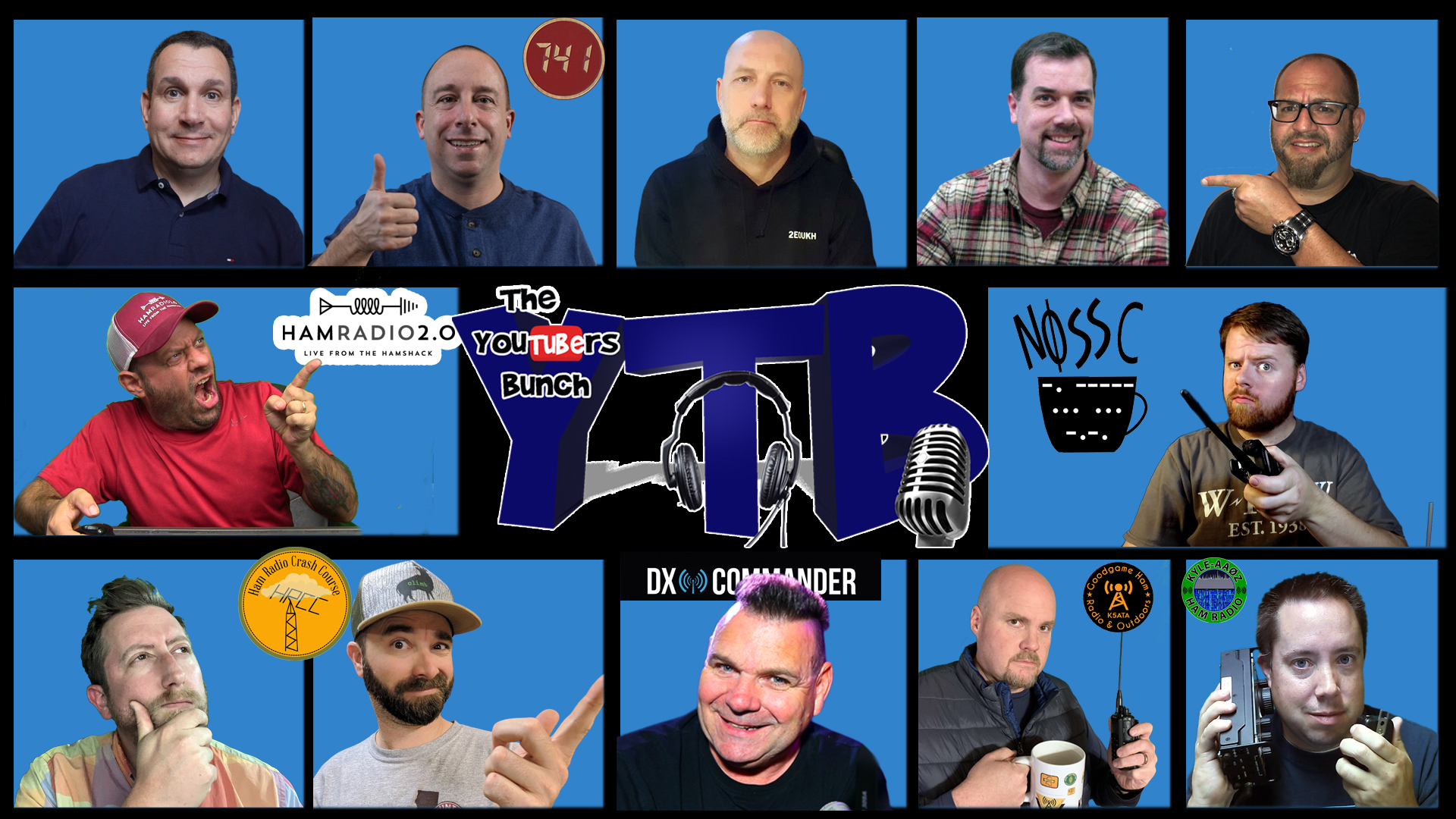 Episode 428: YouTubers Bunch – A Show About Nothing! – Welcome K6ARK! YTB #18