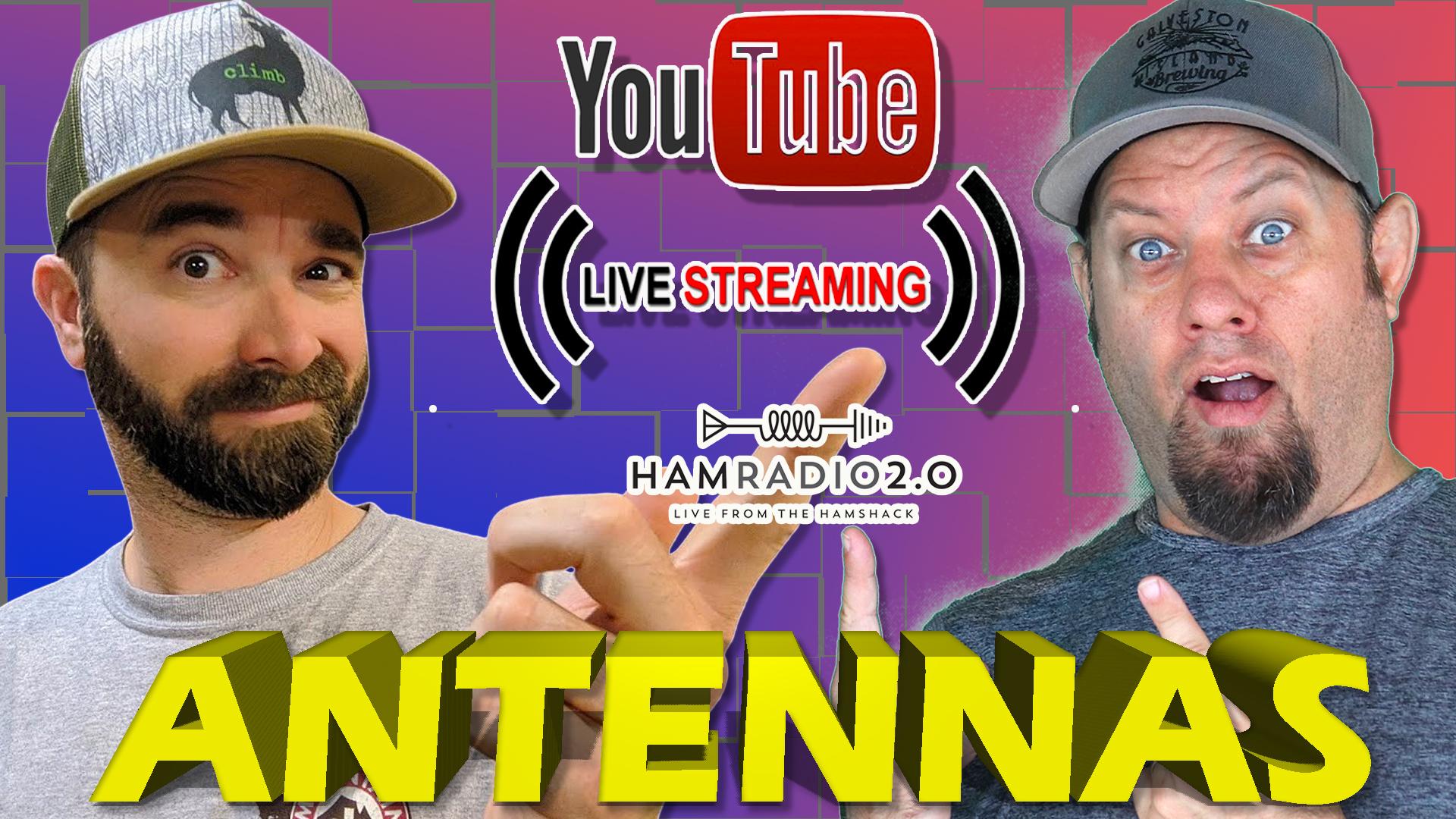 Episode 457: ANTENNAS with K6ARK – Ham Radio Antenna Livestream