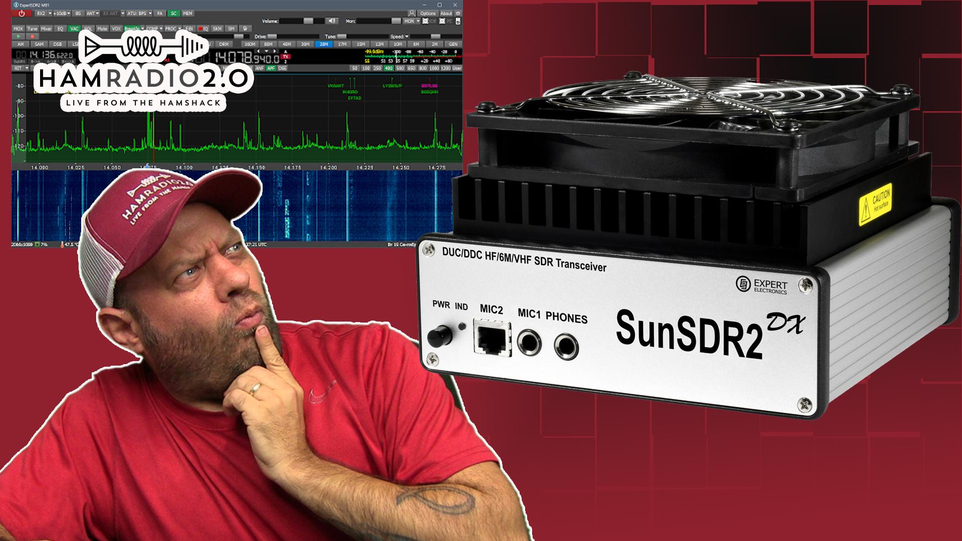 Episode 441: SunSDR2 DX HF Ham Radio Transceiver Setup and Demo