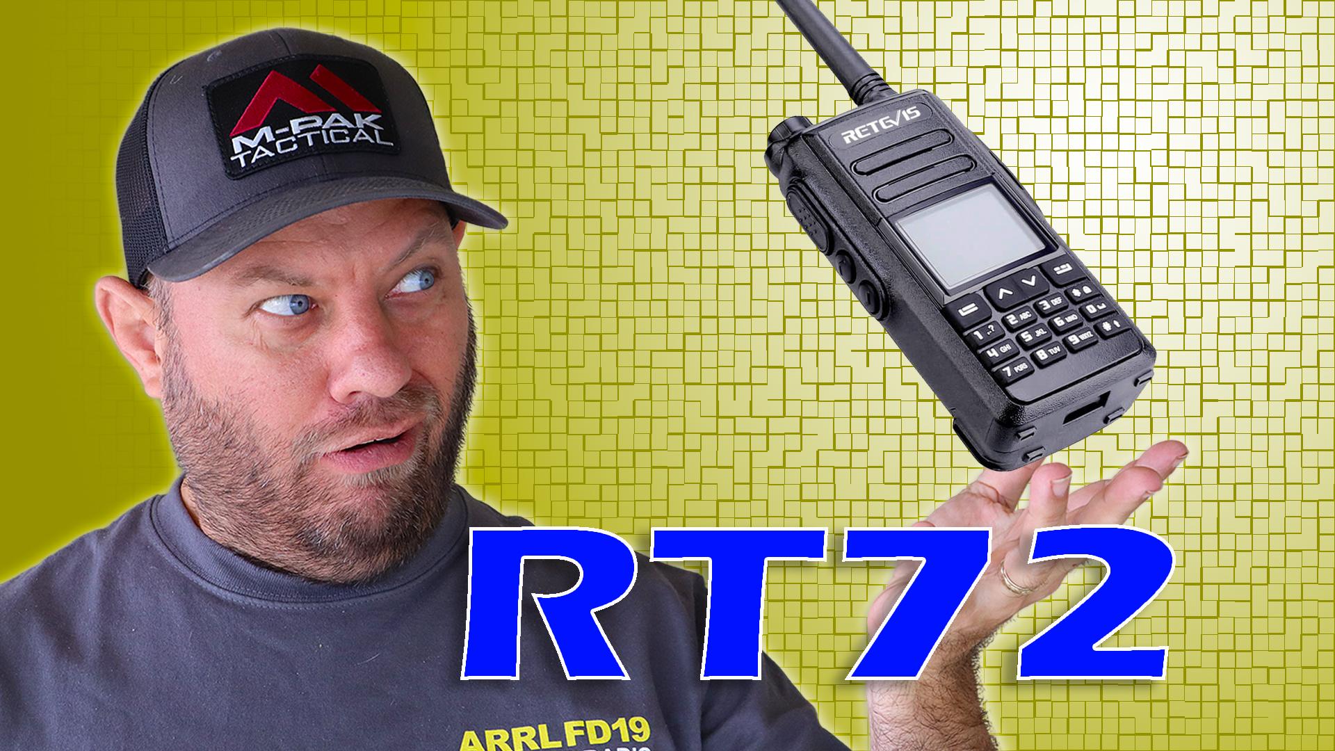 Episode 460: Retevis REVEALS the RT-72 Dual Band DMR Handheld Ham Radio