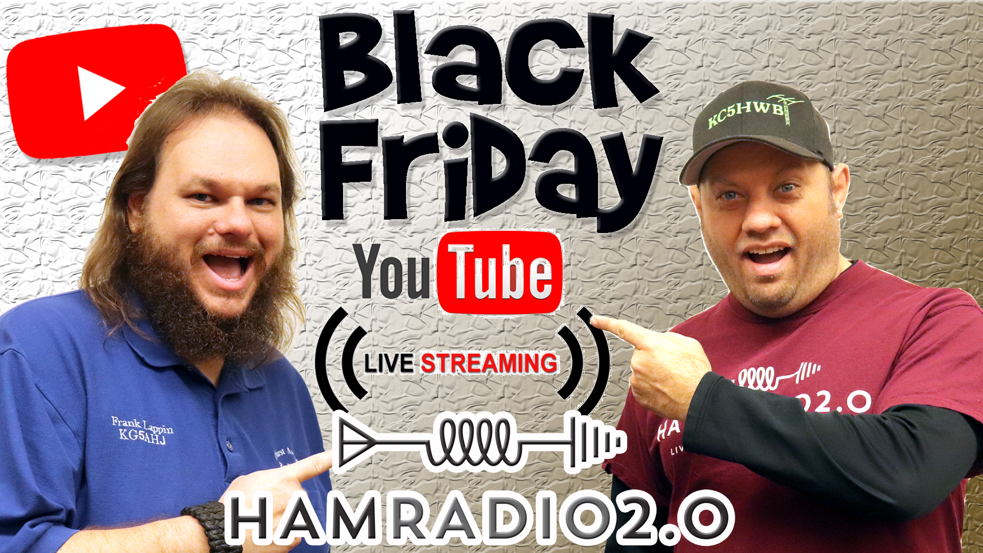Episode 501: BLACK FRIDAY Livestream for Ham Radio Equipment