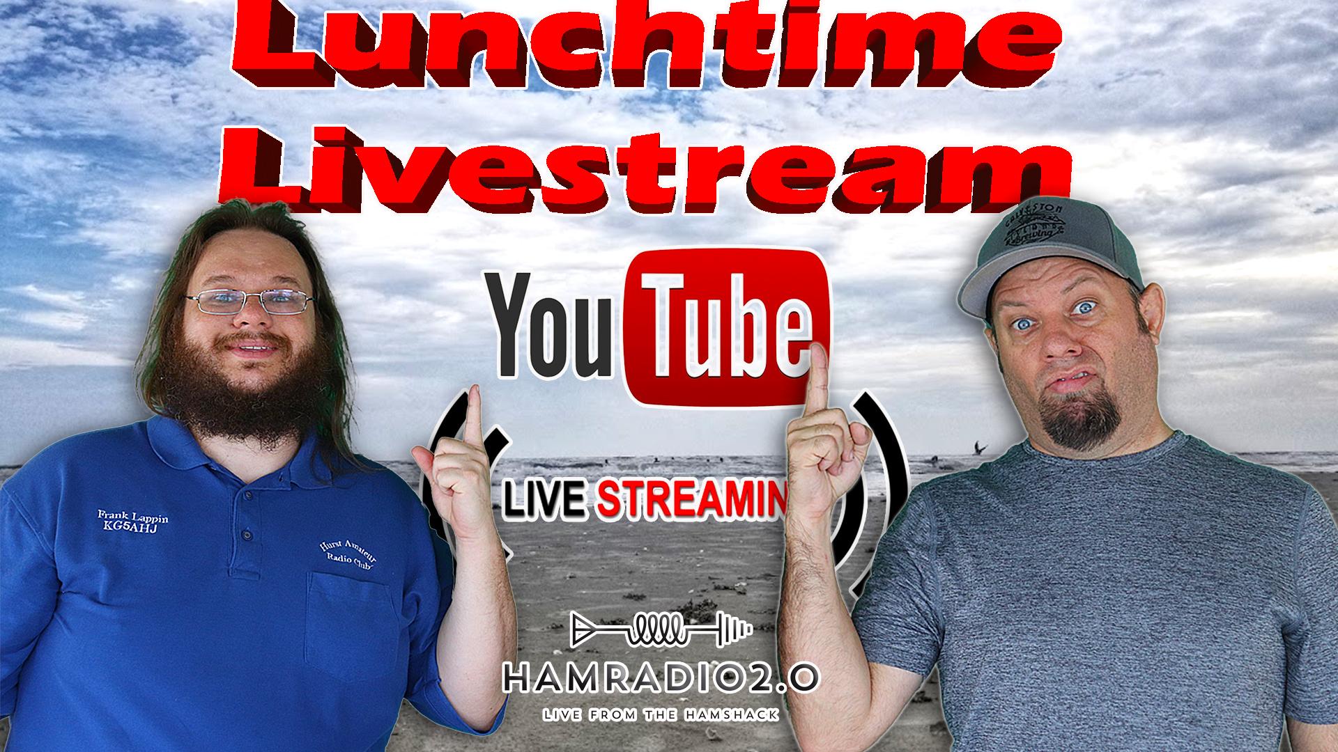 Episode 526: Lunchtime Livestream for January 6 – Ham Radio Livestream