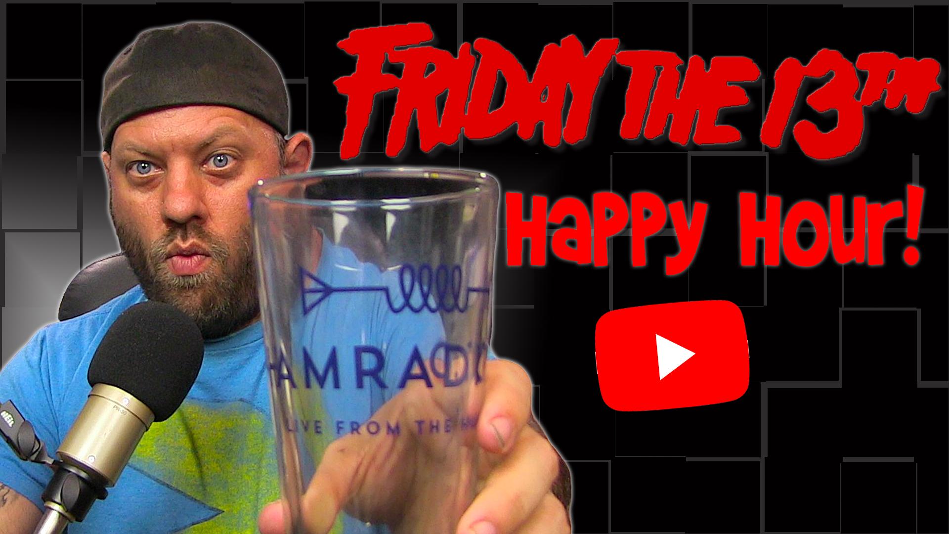 Episode 493: Friday the 13th Ham Radio Happy Hour!