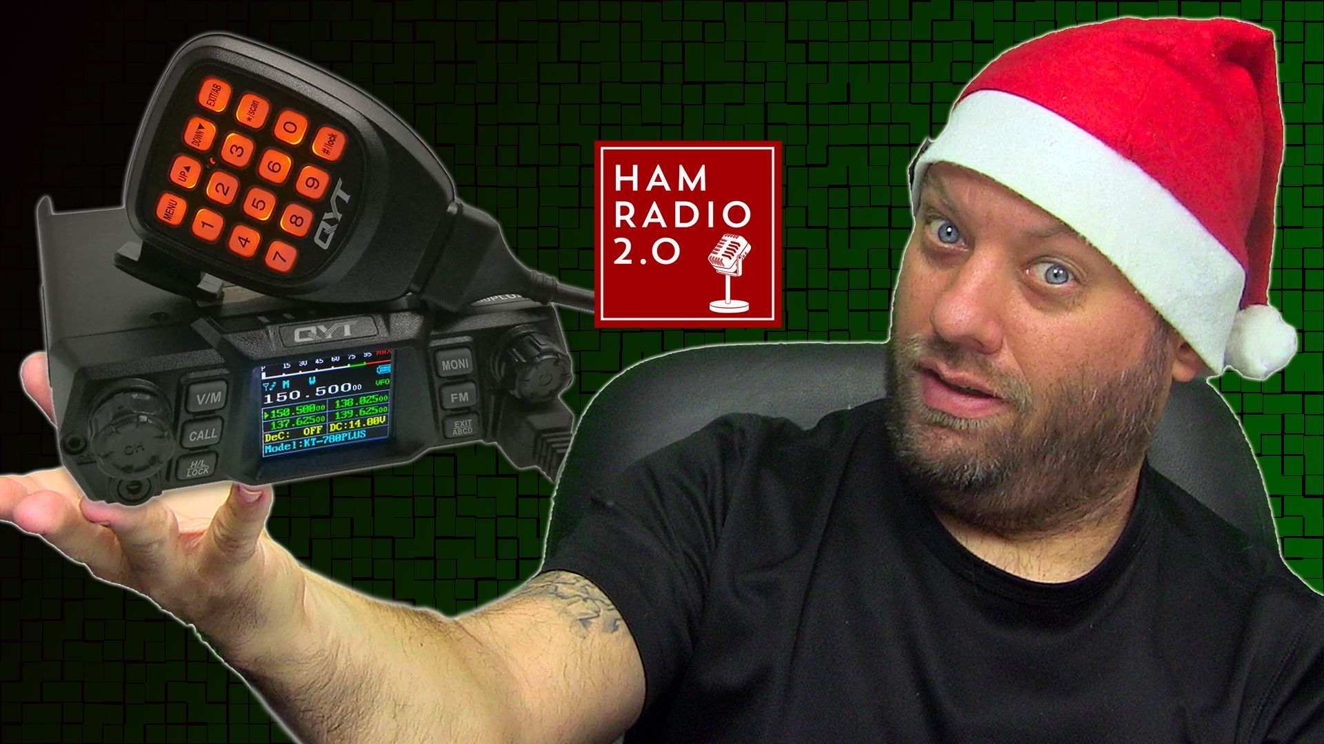 Episode 506: QYT KT-780 Plus 100 Watts 2 meter Mobile Radio Review and Demo