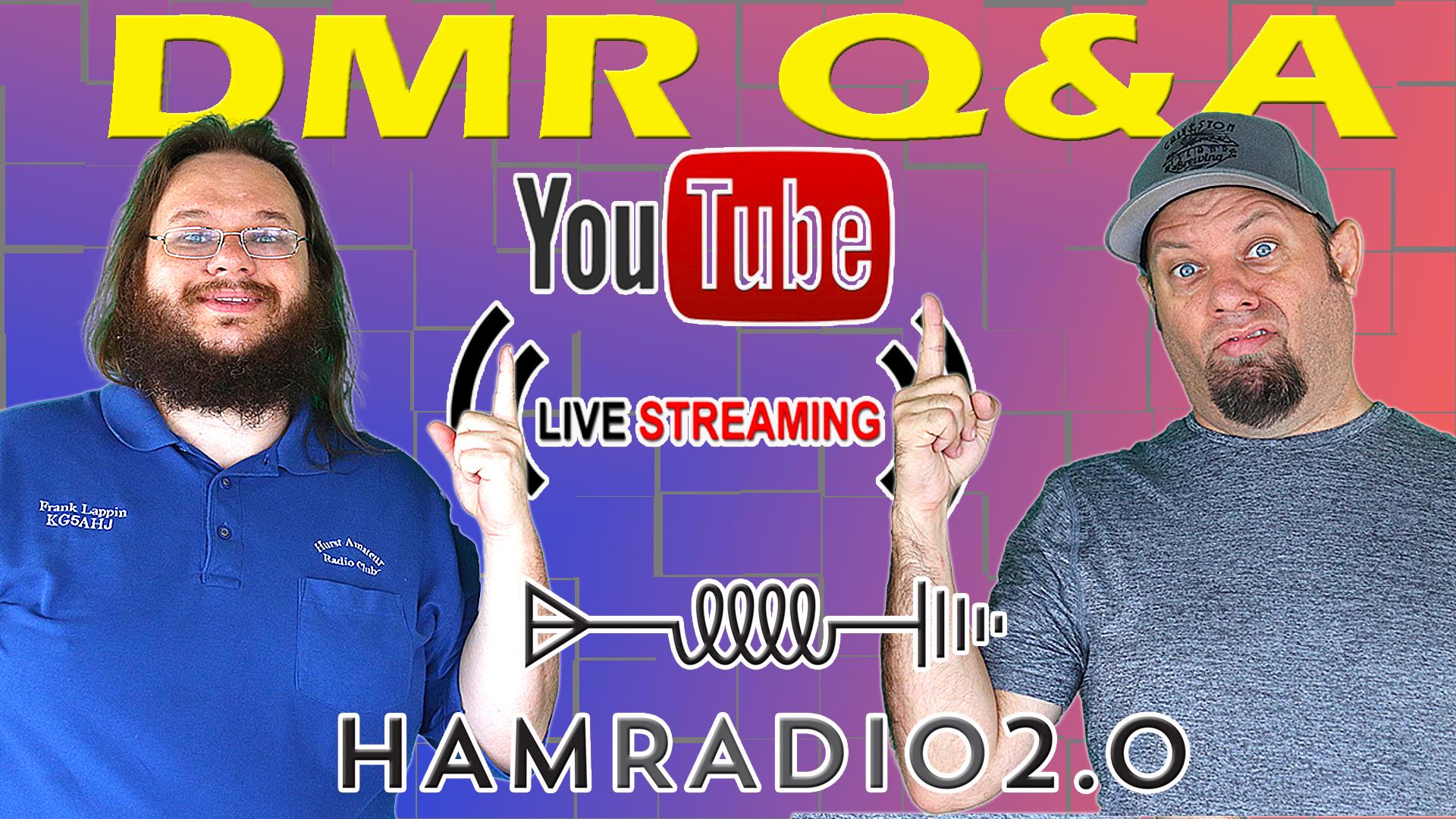 Episode 533: Let's Talk about DMR for Ham Radio!  DMR Livestream