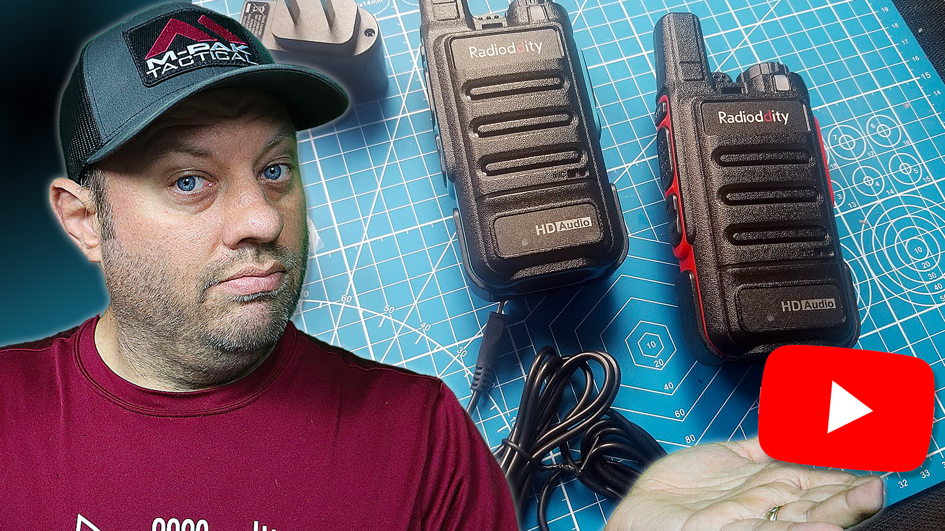 Episode 536: Radioddity FS-N1 Noise-Canceling FRS/PMR446 Radio with HD Audio