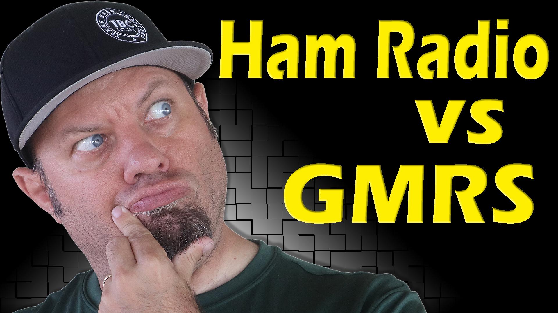 Episode 550: Ham Radio vs GMRS   GMRS Ham Radio Combo – Comparison