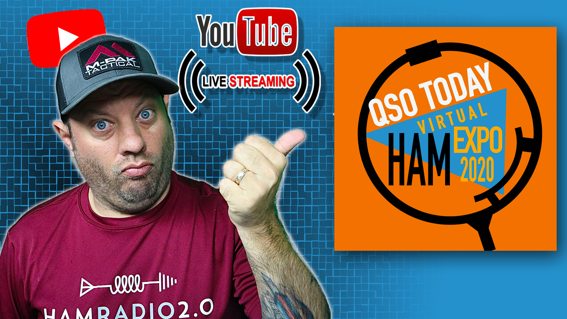 Episode 566: QSO Today Virtual Ham Expo Interview and Livestream | Online Virtual Hamfest!
