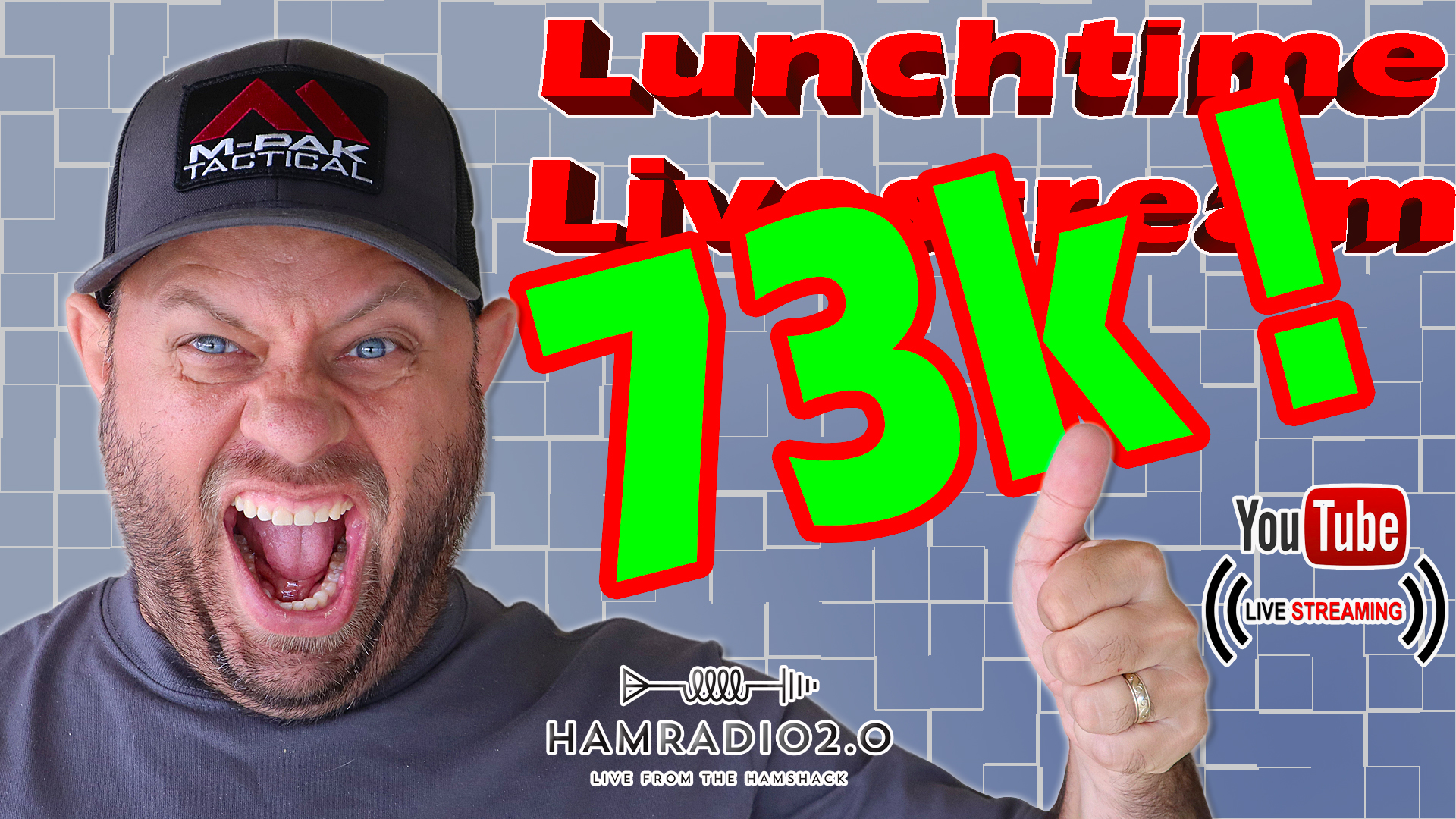 Episode 568: Lunchtime Livestream – 73,000 Subs Giveaway