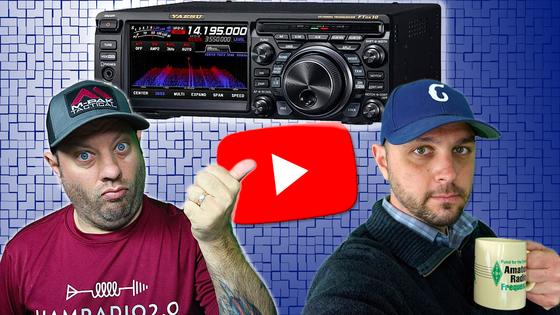 Episode 589: Yaesu FTDX-10 Menu and Feature Overview with W9FFF Ham Radio Dude