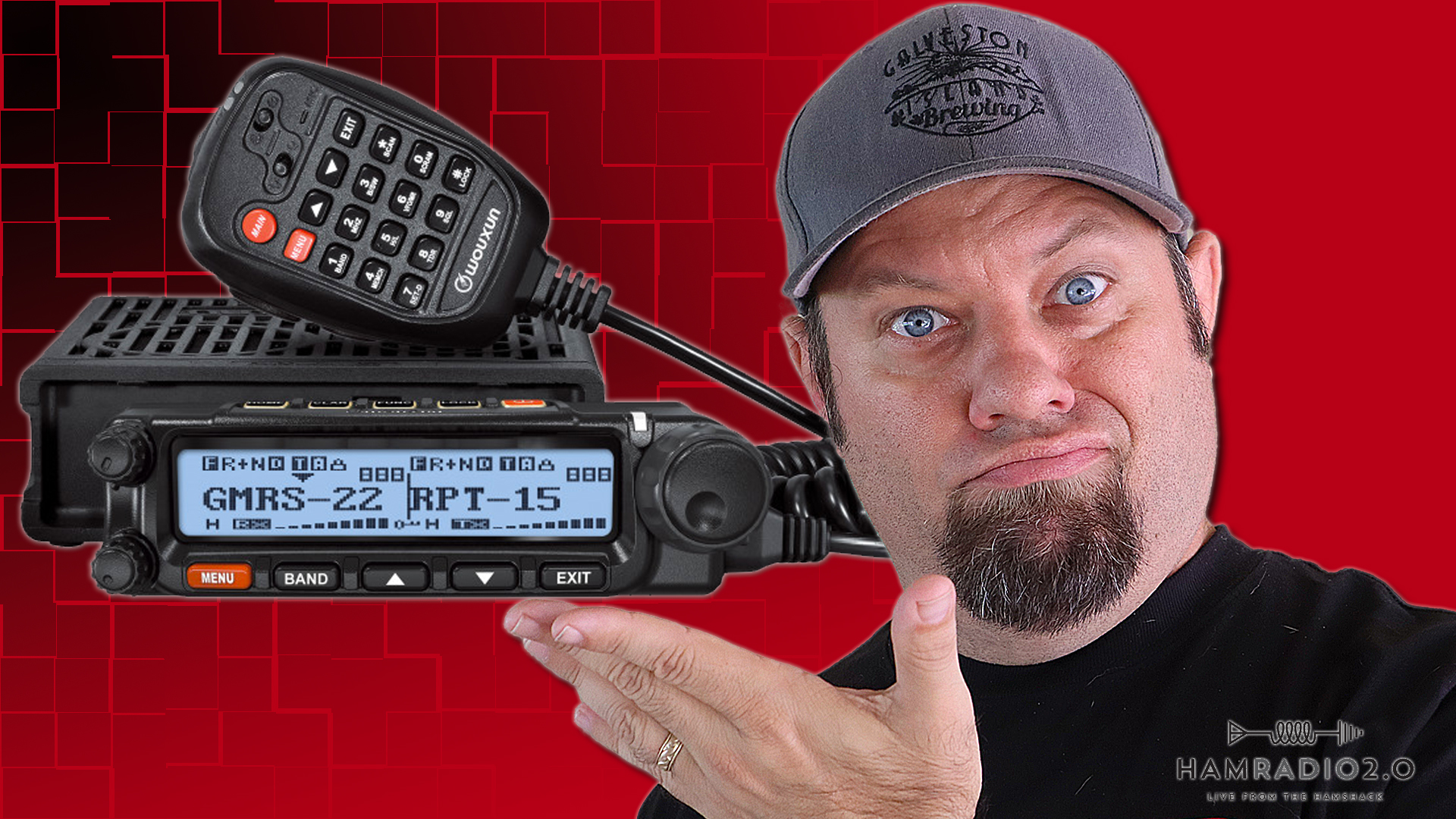 Episode 585: Wouxun REVEALS the KG-1000G | Best Mobile GMRS Radio?