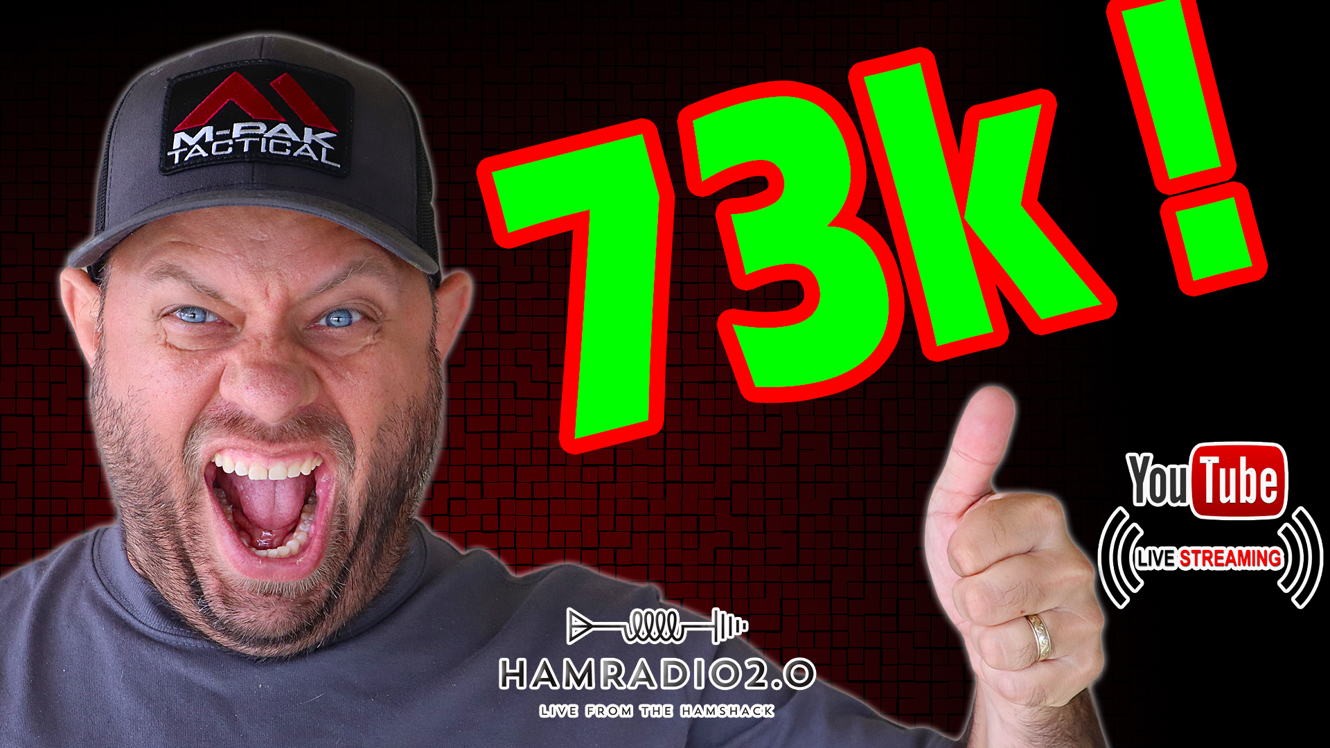 Episode 584: 73,000 Subscriber Giveaway and Operating as KA6LMS/5