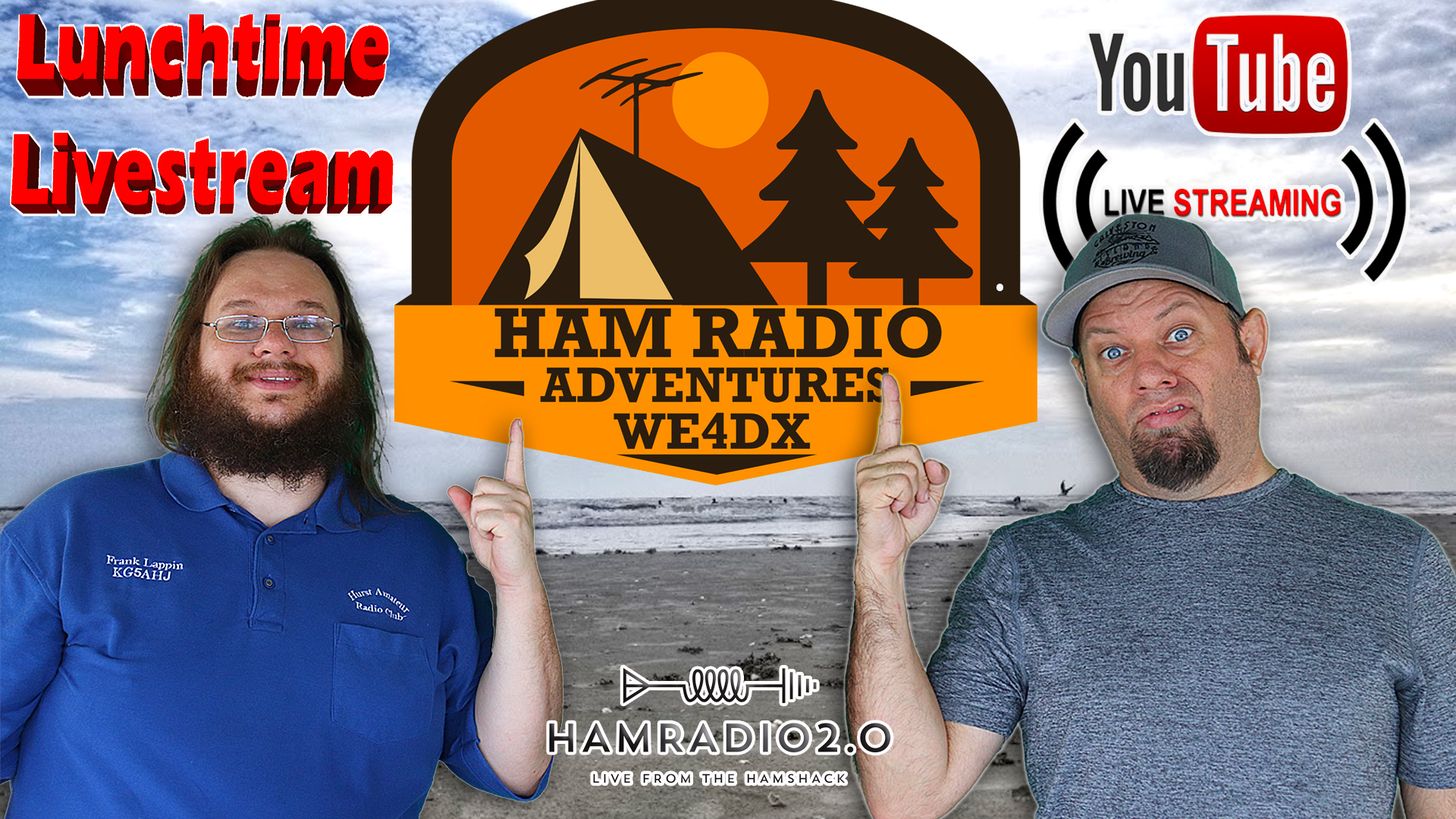 Episode 586: Lunchtime Livestream – Planning POTA at OBX with Ham Radio Adverntures Group!