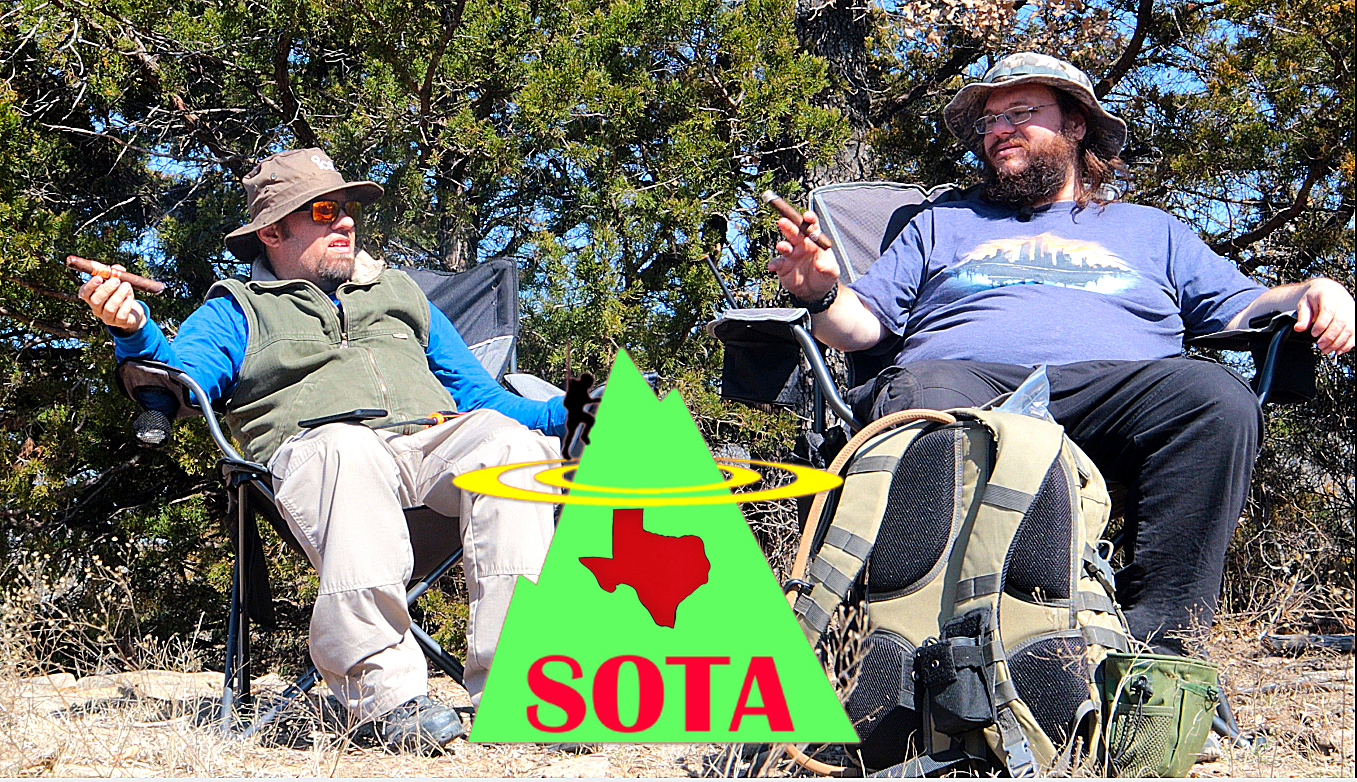Episode 587: Texas Style SOTA (with Cigars ) | Ham Radio Summits on the Air