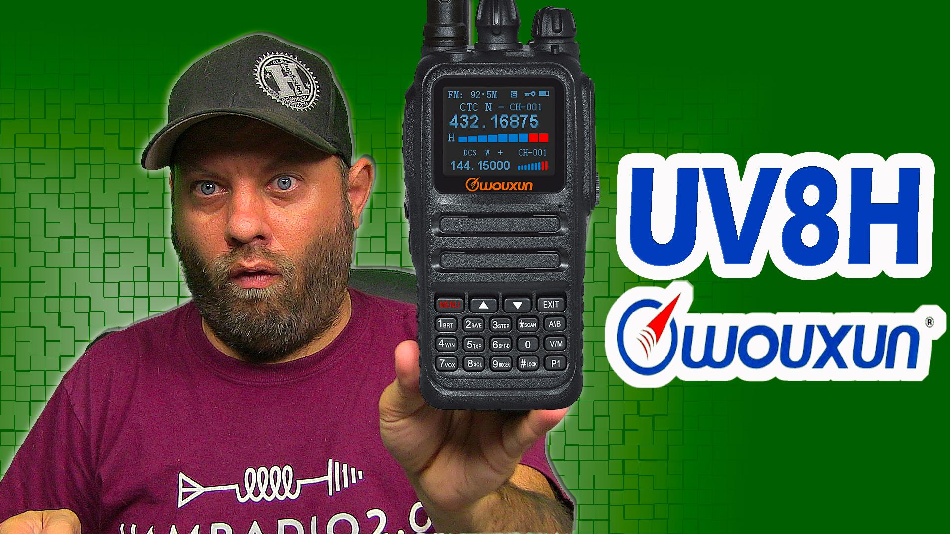 Episode 581: Wouxun REVEALS the KG-UV8H Dual Band 8-watt HT Radio